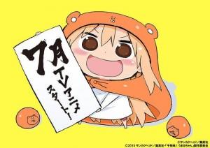 himouto-umaru-chan-wallpaper2-681x500 Himouto! Umaru-chan Anime Review - Perfect on the Outside, Himouto on the Inside