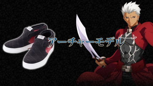 intro_back_01-500x489 Fate stay/night: UBW Saber & Archer Collaboration Sneaker Appears!