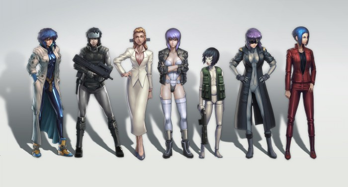 kusanagi motoko fan art