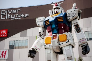 gundam-statue-560x420 Say What? Full Sized Gundam to Walk by 2019