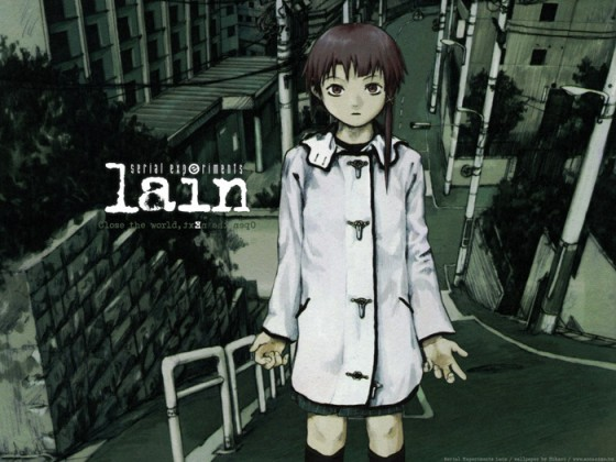 serial experience lain wallpaper