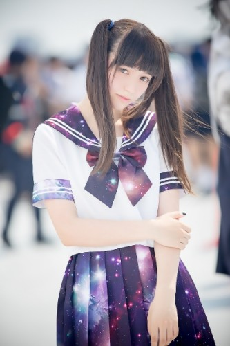 tumblr_nt6ly1PnK81tqpil8o4_1280s Japanese Reaction When A Random White Cosplayer Appeared at Comiket 88!