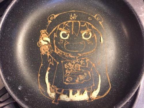 umaru-pancake1-500x375 Anime Portraits... On Pancakes?!
