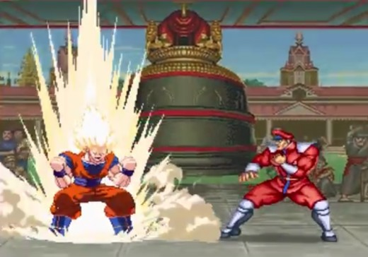 12625761_f520 Goku VS Street Fighter 2 - Fan Made Video Gains Huge Popularity