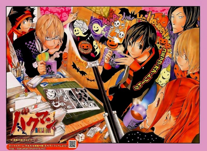 Bakuman Halloween Wallpaper