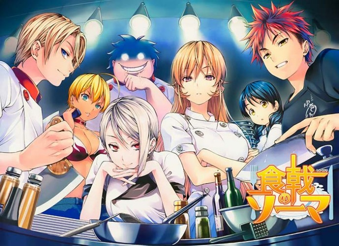 Food Wars! Shokugeki no Soma wallpaper