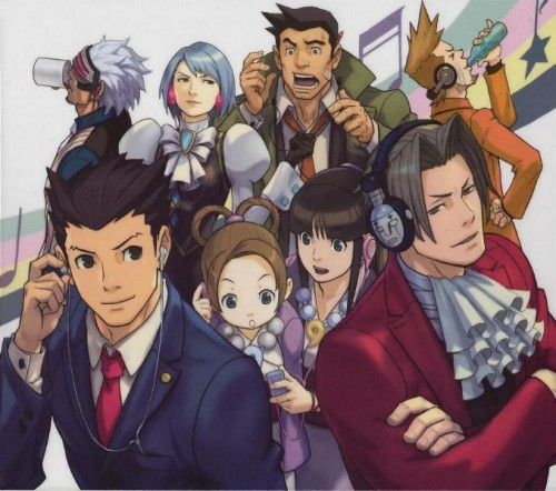 GyakutenSaiban-group-500x442 Phoenix Wright: Ace Attorney - Anime Announced!