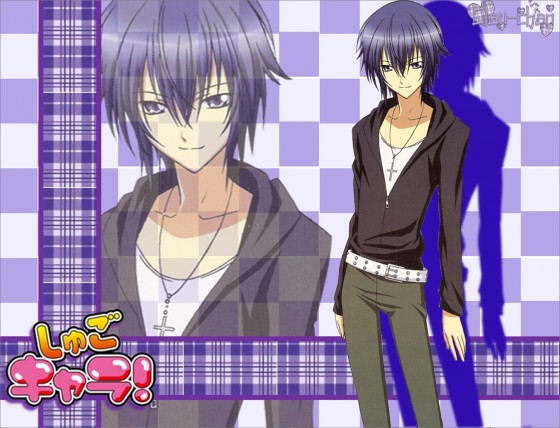 Ikuto Tsukiyomi from Shugo Chara! wallpaper