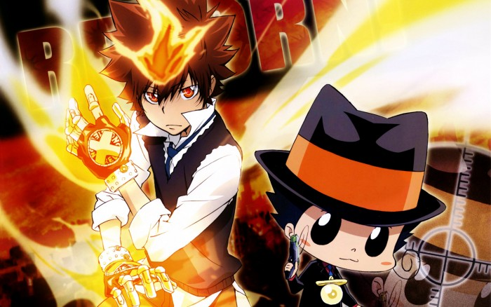 Katekyou Hitman Reborn wallpaper