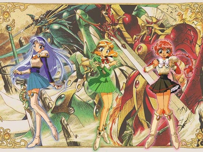 Magic Knight Rayearth wallpaper 2