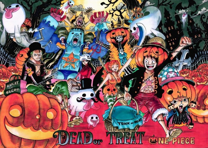 One Piece Halloween Wallpaper