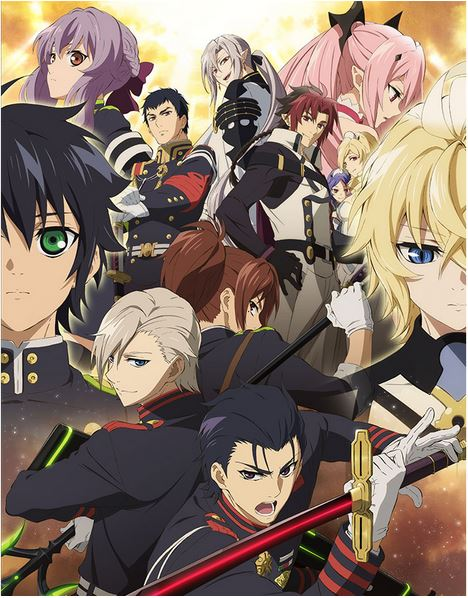 Owari-no-Seraph1 Fall 2015 Top 10 Most Watched Anime So Far