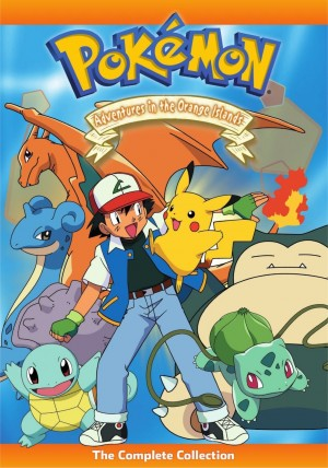 Pokemon Adventures in the Orange Island DVD