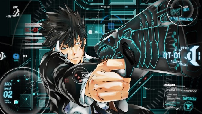 Shinya Kougami Psycho-Pass wallpaper