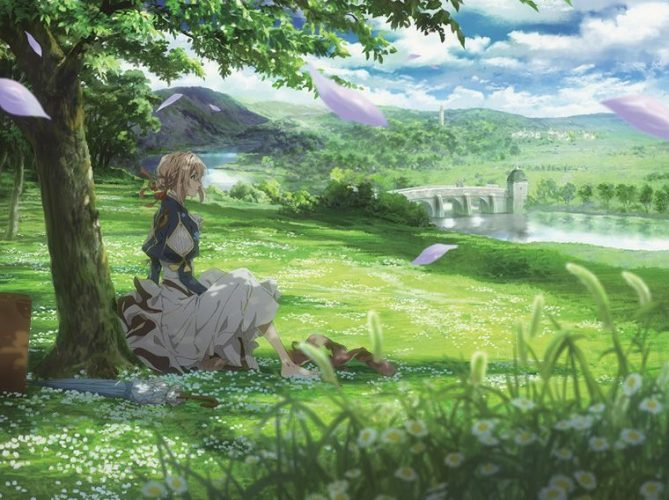 Violet-Evergarden-wallpaper-669x500 Top 10 Anime About Mental Health [Best Recommendations]