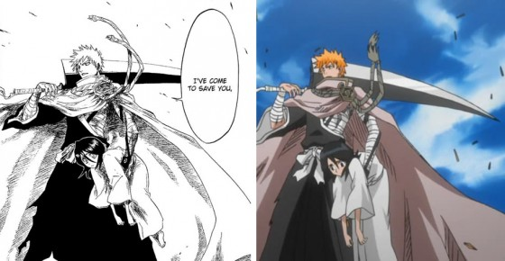 bleach-anime-manga-compare-560x290 [Editorial Tuesday] The Differences Between Anime and Manga