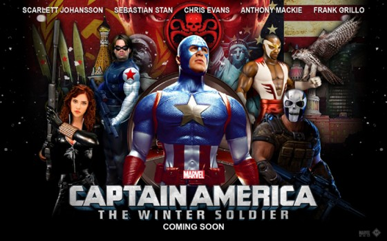 captain america winter soldiers wallpaper
