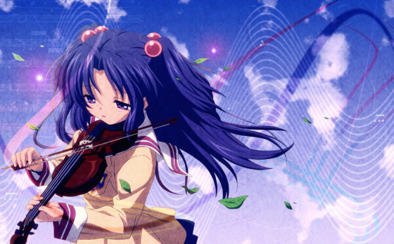 lucky-star-hiiragi-kagami-tsukasa-sisters-wallpaper Top 10 Purple Haired Characters in Anime