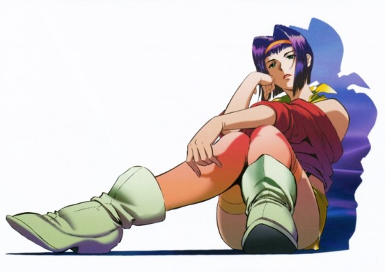 cowboy bebop faye wallpaper
