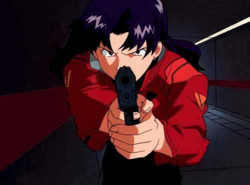 evangelion-katsuragi-misato-wallpaper-688x500 [Honey's Crush Wednesday] Top 5 Misato Katsuragi Highlights - Neon Genesis Evangelion