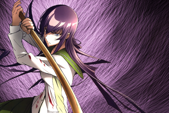highschool of the dead saeko busujima wallpaper