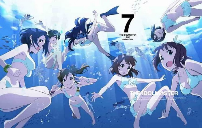 idolmaster swimsuits wallpaper
