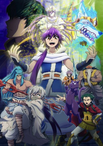 magi-sindband-eye-352x500 Magi Adventure of Sindbad (Magi spinoff) to Air from April