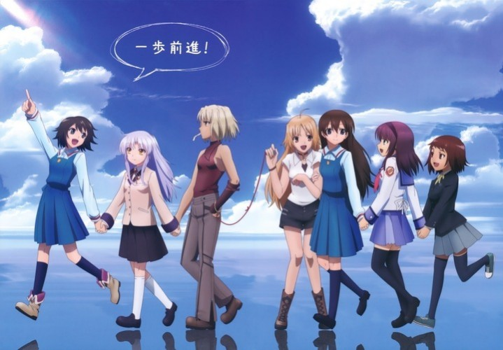 p.a.works anime wallpapper 02
