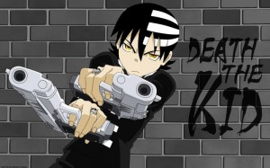 soul eater death the kid wallpaper