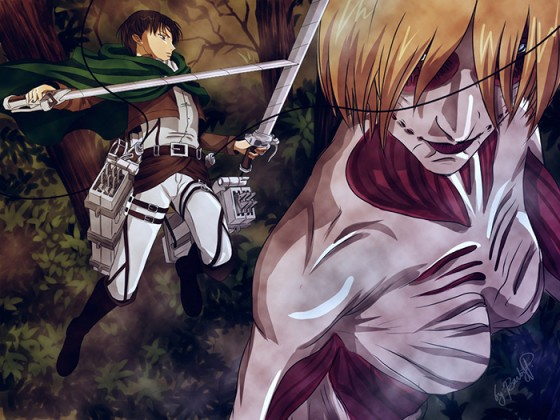 Female-Titan-Attack-on-Titan-wallpaper-700x393 Top 10 Anime Fight Scenes [Best Recommendations]