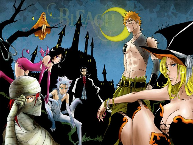 Bleach Halloween wallpaper