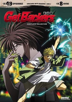 GetBackers Dakkan'ya dvd