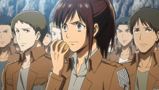 Sasha Blouse Attack on Titan wallpaper