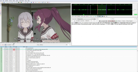 how to anime fansub TLC