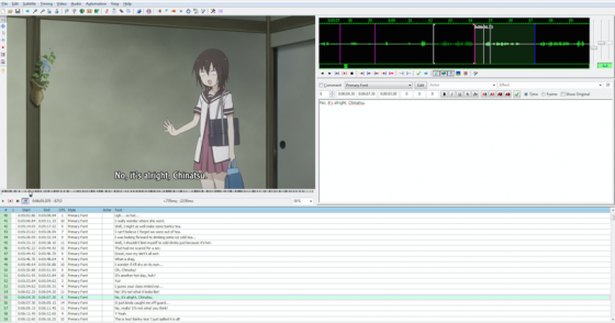 how to anime fansub script timing