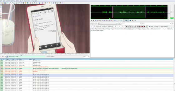 how to anime fansub typesetting
