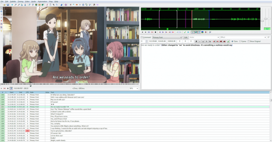 how to fansub editing