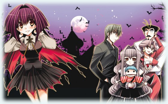 wallpaper Chibi Vampire