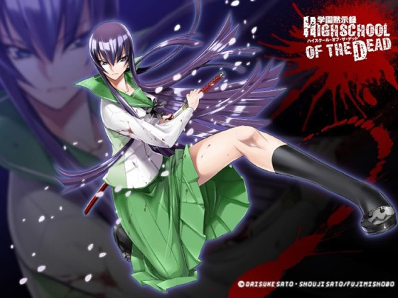 wallpaper Highschool of the Dead