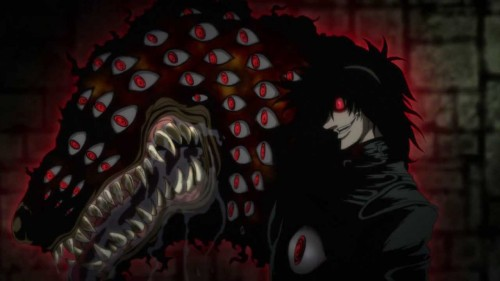 6 - Hellsing Scariest Anime Moments