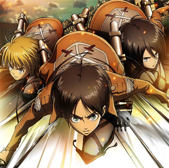 Attack-on-Titan-Wallpaper-560x559 Top 10 Male Voiced Anime Songs [Japan Poll]
