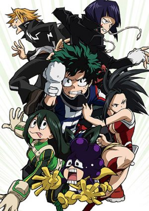 Boku no Hero Academia dvd