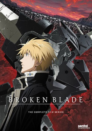 Break Blade dvd