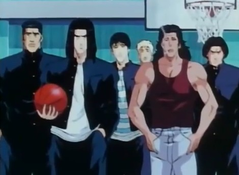Slam dunk review characters for Domon vs chibodee