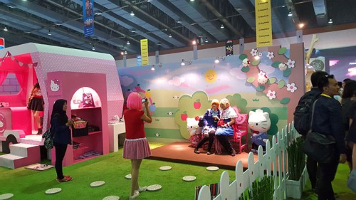 ICC-hello kitty booth