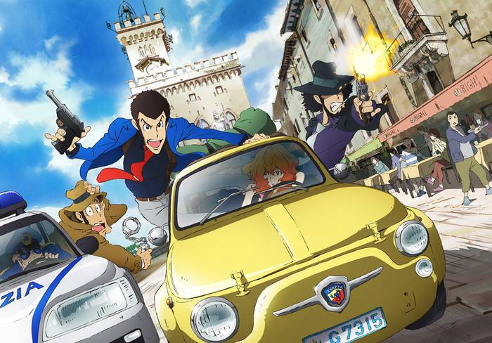 Lupin the third 2015 wallpaper
