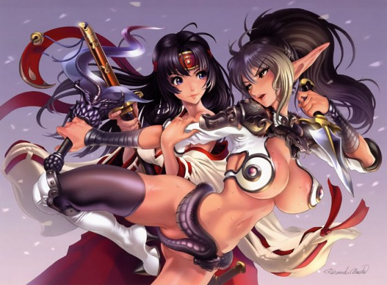 Queen's Blade Rurou no Senshi Wallpaper