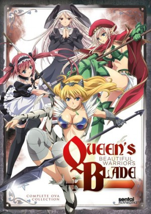 Queen Blade Rurou no Senshi dvd