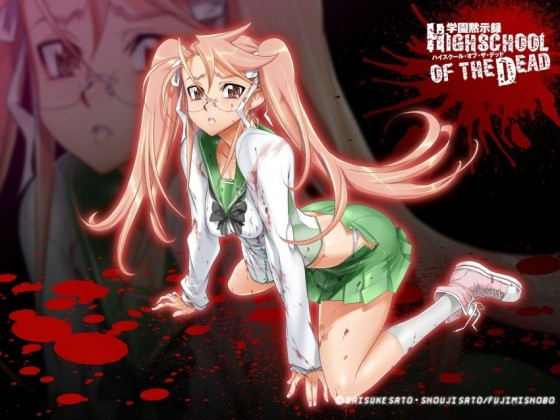 Saya Takagi Highschool of the Dead