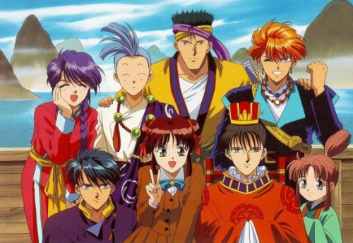 The Relationships fushigi yugi